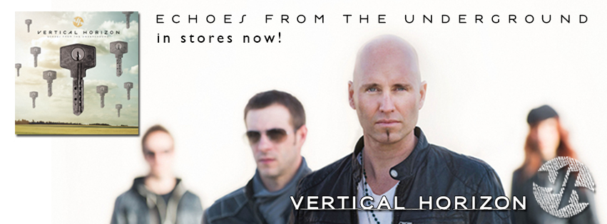 """Vertical Horizon releases """"Echoes From The Underground"""""""